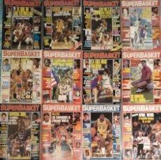Coleccionismo deportivo: REVISTAS ''SUPERBASKET'' - 12 PRIMEROS NÚMEROS (1986-1987). Lote 191232552