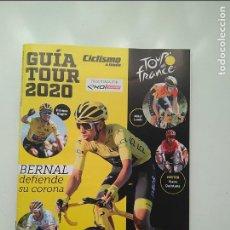 Coleccionismo deportivo: CICLISMO A FONDO GUIA TOUR DE FRANCIA 2020. POSTER NAIRO QUINTANA. PERFECTO ESTADO. Lote 236987895