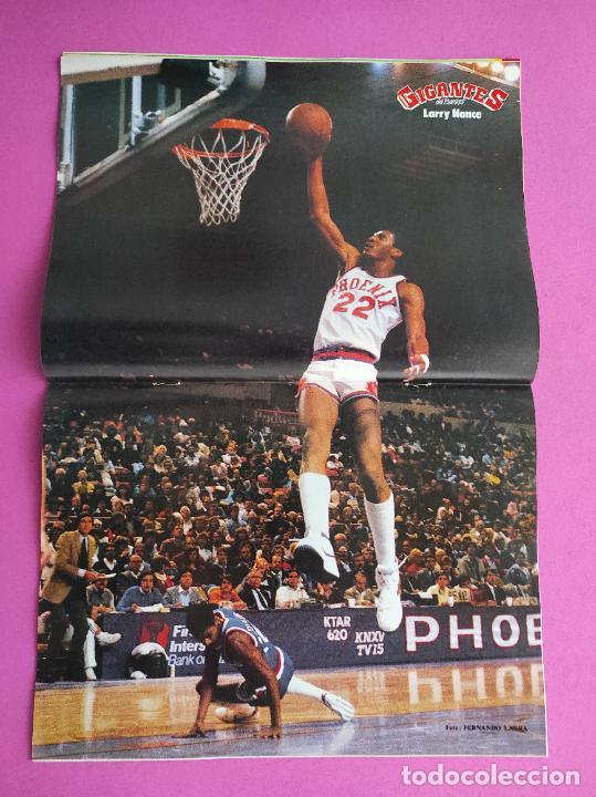 Coleccionismo deportivo: REVISTA GIGANTES BASKET Nº 23 1986 CIBONA-ZALGUIRIS FINAL COPA EUROPA POSTER NBA - CORBALAN ROBINSON - Foto 2 - 237264680