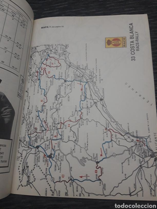 Coleccionismo deportivo: Costa Blanca 33 Race Rally programa 1985 - Foto 3 - 237408570