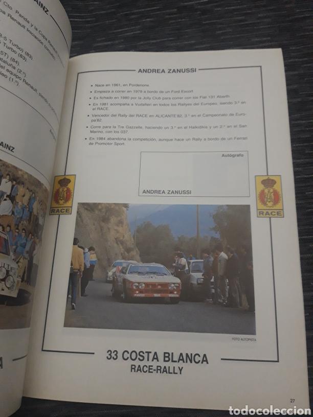 Coleccionismo deportivo: Costa Blanca 33 Race Rally programa 1985 - Foto 5 - 237408570