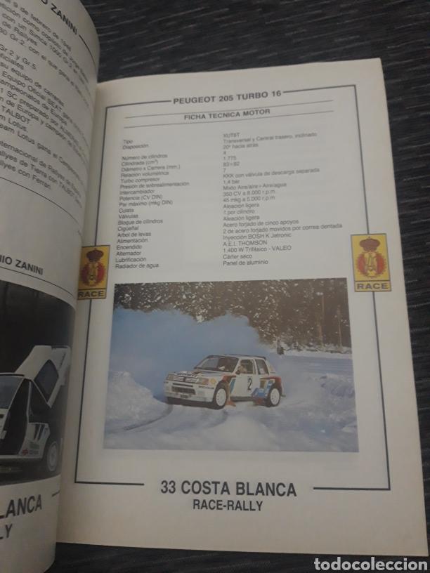 Coleccionismo deportivo: Costa Blanca 33 Race Rally programa 1985 - Foto 7 - 237408570