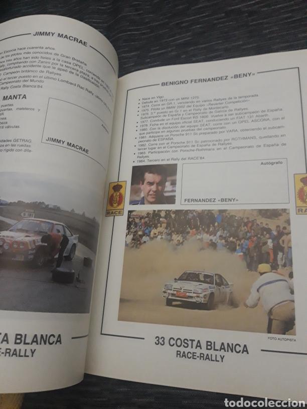 Coleccionismo deportivo: Costa Blanca 33 Race Rally programa 1985 - Foto 9 - 237408570