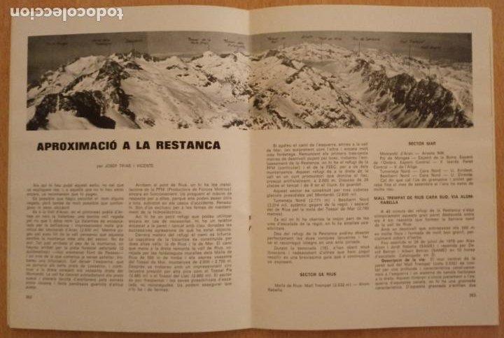Coleccionismo deportivo: VÈRTEX Nº 70 - FEDERACIÓ ENTITATS EXCURSIONISTES CATALUNYA - 1979 - Foto 3 - 237439620