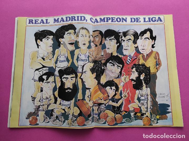 REVISTA NUEVO BASKET Nº 132 1985 EUROBASKET 85 - LOLO SAINZ - POSTER REAL MADRID CAMPEON LIGA (Coleccionismo Deportivo - Revistas y Periódicos - otros Deportes)