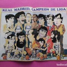 Coleccionismo deportivo: REVISTA NUEVO BASKET Nº 132 1985 EUROBASKET 85 - LOLO SAINZ - POSTER REAL MADRID CAMPEON LIGA. Lote 237487155