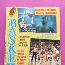 Coleccionismo deportivo: REVISTA NUEVO BASKET Nº 134 135 1985 BARÇA MUNDIAL CLUBS - FINAL NBA CELTICS-LAKERS - PETROVIC. Lote 237488090