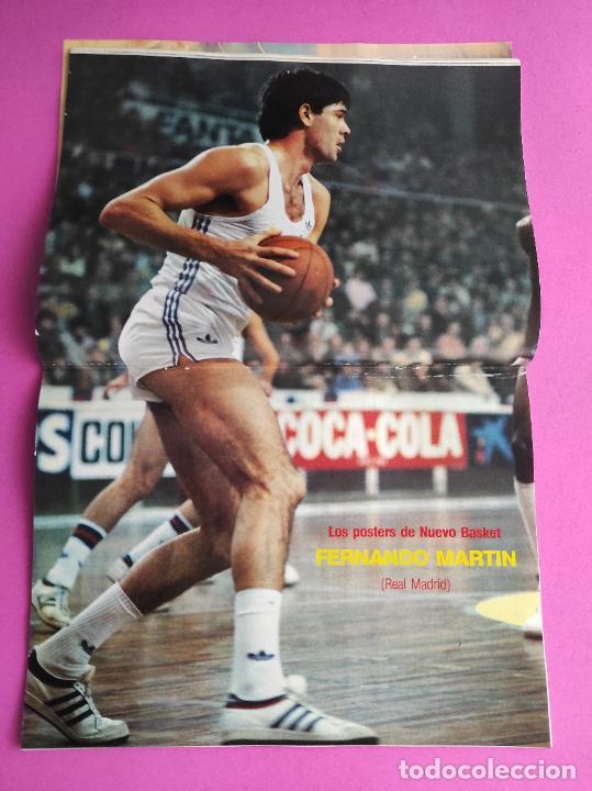 Coleccionismo deportivo: REVISTA NUEVO BASKET Nº 136 1985 FERNANDO MARTIN CAMPUS NETS POSTER REAL MADRID BRABENDER LIGA 85/86 - Foto 3 - 237488440