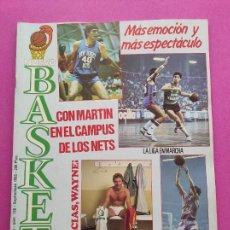 Coleccionismo deportivo: REVISTA NUEVO BASKET Nº 136 1985 FERNANDO MARTIN CAMPUS NETS POSTER REAL MADRID BRABENDER LIGA 85/86. Lote 237488440