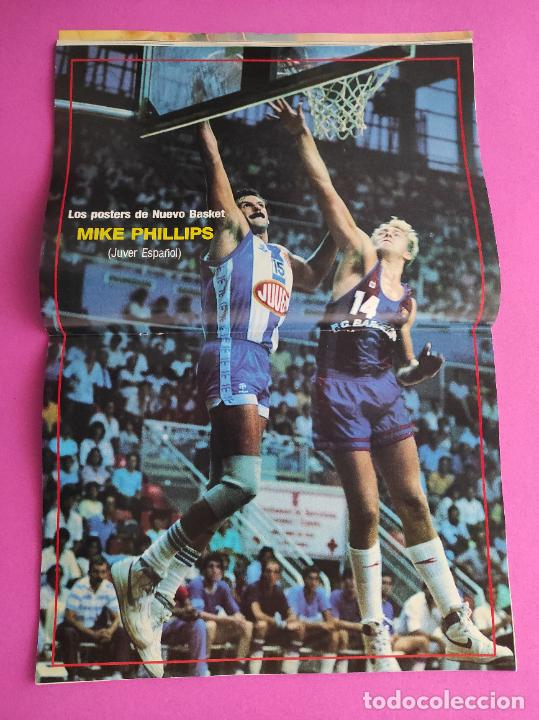 Coleccionismo deportivo: REVISTA NUEVO BASKET Nº 137 1985 POSTER MIKE PHILLIPS JUVER ESPAÑOL - ROLANDO FRAZER - MIKE DANTONI - Foto 3 - 237489085