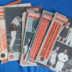 Coleccionismo deportivo: LOTE REVISTAS BOXEO AÑOS 60. NUM. 31, 32, 33, 36, 37, 39, 40, 41, 42, 43, 45. Lote 237664215