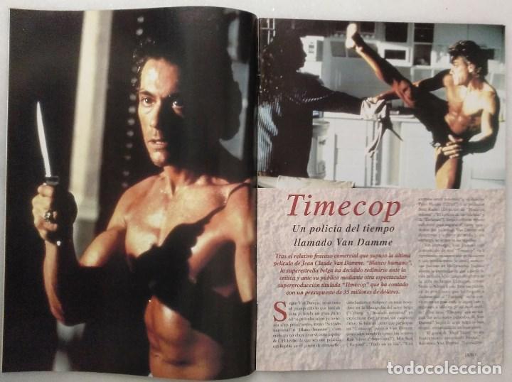 Coleccionismo deportivo: Jean Claude Van Damme - 13 (+1) revistas de artes marciales Dojo (1990-1997) - Foto 4 - 238350190