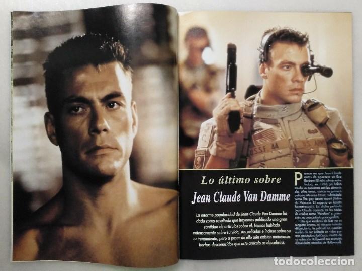 Coleccionismo deportivo: Jean Claude Van Damme - 13 (+1) revistas de artes marciales Dojo (1990-1997) - Foto 5 - 238350190