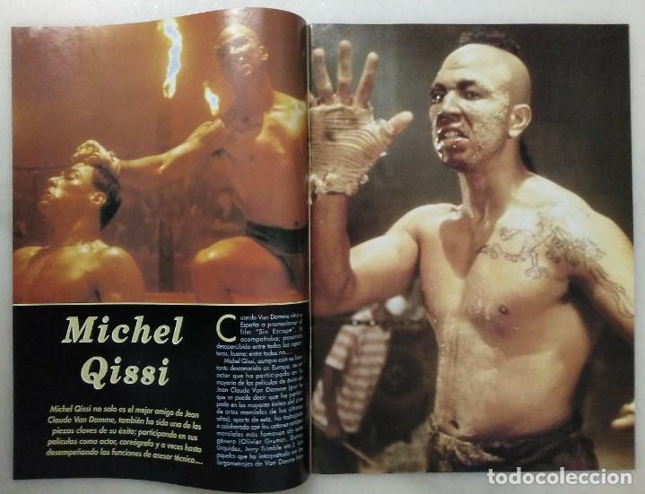 Coleccionismo deportivo: Jean Claude Van Damme - 13 (+1) revistas de artes marciales Dojo (1990-1997) - Foto 9 - 238350190