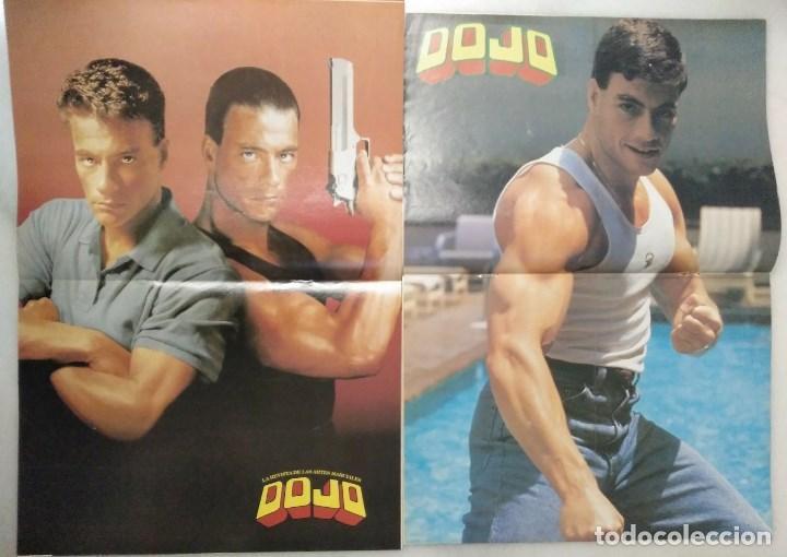 Coleccionismo deportivo: Jean Claude Van Damme - 13 (+1) revistas de artes marciales Dojo (1990-1997) - Foto 10 - 238350190