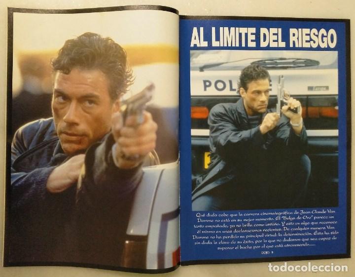 Coleccionismo deportivo: Jean Claude Van Damme - 13 (+1) revistas de artes marciales Dojo (1990-1997) - Foto 12 - 238350190