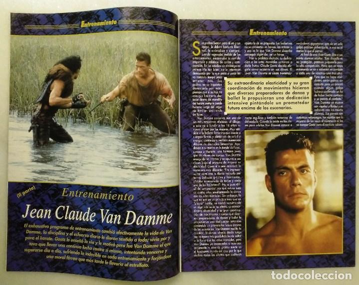 Coleccionismo deportivo: Jean Claude Van Damme - 13 (+1) revistas de artes marciales Dojo (1990-1997) - Foto 13 - 238350190