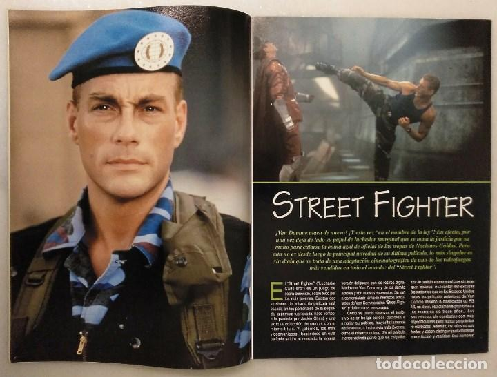 Coleccionismo deportivo: Jean Claude Van Damme - 13 (+1) revistas de artes marciales Dojo (1990-1997) - Foto 14 - 238350190