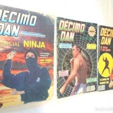 Coleccionismo deportivo: LOTE REVISTAS DECIMO DAN (KARATE). Lote 238455865