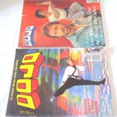 Coleccionismo deportivo: LOTE REVISTAS DOJO CON POSTER (JACKIE CHAN CHUCK NORRIS). Lote 238456960
