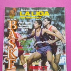 Collectionnisme sportif: REVISTA NUEVO BASKET Nº 148 1986 ESPECIAL FERNANDO MARTIN CAMPUS NBA - POSTER RUSSEL ESTUDIANTES. Lote 238780005