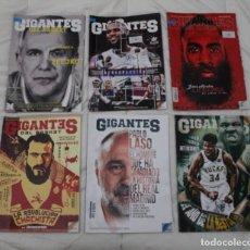 Coleccionismo deportivo: LOTE REVISTA GIGANTES DEL BASKET. Lote 239652280