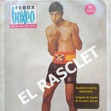 Coleccionismo deportivo: ANTIGÜA REVISTA BOXEO - FEBOX - Nº 200 - MAYO 1974. Lote 239866375