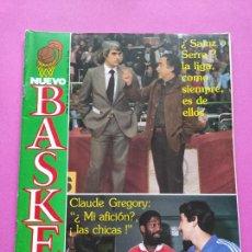 Colecionismo desportivo: REVISTA NUEVO BASKET Nº 53 1982 LOLO SAINZ ZARAGOZA-COTONIFICIO - ESTUDIANTES - NBA 81/82 - GREGORY. Lote 240759990