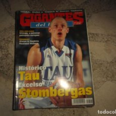 Collectionnisme sportif: GIGANTES DEL BASKET Nº 806, HITORICO TAU, ALSTON & HOPKINS, POSTER LAMAR ODOM,. Lote 241869200