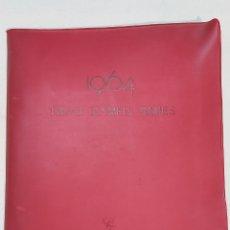 Coleccionismo deportivo: CARPETA DE LAS OLIMPIADAS DE TOKYO 1964. COCA COLA. CON RECORTES DE THE MAINICHI DAILY NEWS. Lote 241999445