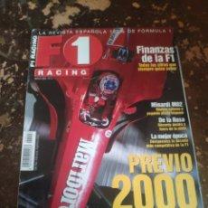 Colecionismo desportivo: REVISTA F1 RACING N° 13 (MARZO DE 2000). Lote 243223815