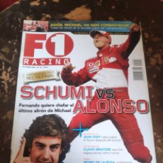 Collezionismo sportivo: REVISTA F1 RACING N° 92 (OCTUBRE DE 2006). Lote 243224130