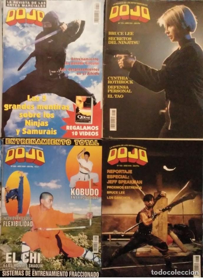 Coleccionismo deportivo: Lote de 20 revistas de artes marciales Dojo - Foto 2 - 194096947