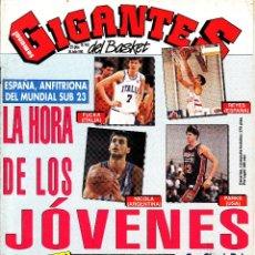 Coleccionismo deportivo: REVISTA GIGANTES DEL BASKET NUMERO 403 MUNDIAL SUB23, LA HORA DE LOS JÓVENES. Lote 243687845