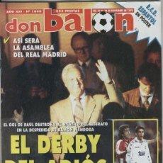 Coleccionismo deportivo: DON BALON NUMERO 1049. Lote 243763880