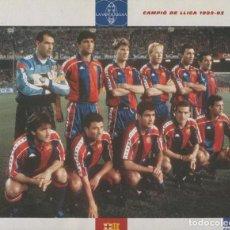 Coleccionismo deportivo: GRAN ALBUM DEL BARÇA: CENT ANYS EN BLAU I GRANA. Lote 243767850