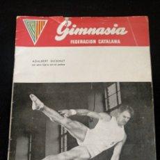 Coleccionismo deportivo: GIMNASIA FEDERACIÓN CATALÁN, N°5, 1954. Lote 243806585
