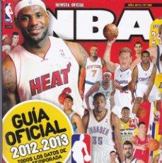 Coleccionismo deportivo: REVISTA OFICIAL NBA Nº 238 DE 2012. GUIA OFICIAL 2012/2013 TODOS LOS DATOS DE LA TEMPORADA. Lote 243808745