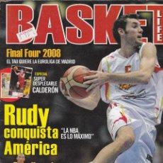 Coleccionismo deportivo: REVISTA BASKET Nº 3 2008.. Lote 243811130