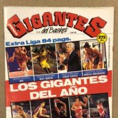 Coleccionismo deportivo: GIGANTES DEL BASKET N° 291 (1991). POSTER JOVENTUT BADALONA CAMPEÓN, EXTRA LIGA, BIRIUKOV DROGAS. Lote 243824080