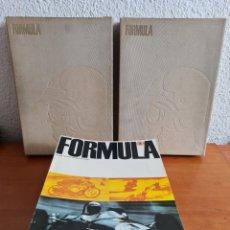 Coleccionismo deportivo: 22 REVISTAS FÓRMULA COMPETICIÓN MOTOR MONTJUÏC GP BARCELONA ESPAÑA SEAT FERRARI MOTOCICLISMO JARAMA. Lote 243799140