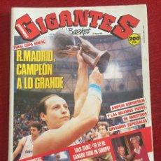 Coleccionismo deportivo: REVISTA GIGANTES DEL BASKET # 124 AÑO 1988 NBA REAL MADRID CAMPEON COPA KORAC. Lote 244746090