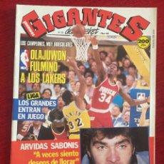 Coleccionismo deportivo: REVISTA GIGANTES DEL BASKET # 130 AÑO 1988 NBA POSTER DOC RIVERS DAVE CORZINE. Lote 244746710