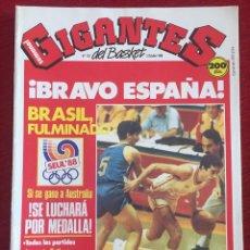 Coleccionismo deportivo: REVISTA GIGANTES DEL BASKET # 152 AÑO 1988 NBA POSTER ROBINSON EPI MAJERLE. Lote 244747185