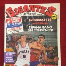 Coleccionismo deportivo: REVISTA GIGANTES DEL BASKET # 162 AÑO 1988 NBA POSTER MIKE. Lote 244747820