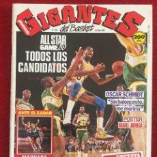Coleccionismo deportivo: REVISTA GIGANTES DEL BASKET # 169 AÑO 1989 NBA POSTER RAFAEL JOFRESA. Lote 244750045
