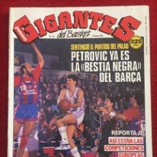 Coleccionismo deportivo: REVISTA GIGANTES DEL BASKET # 172 AÑO 1989 NBA POSTER JOHN PINONE. Lote 244750275