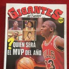 Coleccionismo deportivo: REVISTA GIGANTES DEL BASKET # 178 AÑO 1989 NBA MICHAEL JORDAN POSTER GRANGER HALL. Lote 244750680