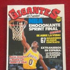 Coleccionismo deportivo: REVISTA GIGANTES DEL BASKET # 179 AÑO 1989 NBA QUIQUE RUIZ PAZ. Lote 244750840