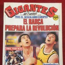 Coleccionismo deportivo: REVISTA GIGANTES DEL BASKET # 180 AÑO 1989 NBA FERNANDO ARCEGA. Lote 244750950